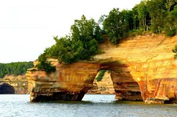 Lovers Leap, Pictured Rocks, Munising, Michigan