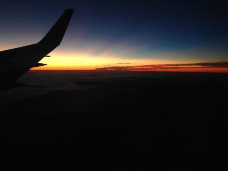 Airplane, window seat