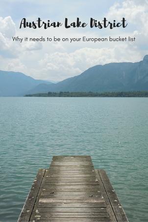Austrian Lake District - European bucket list