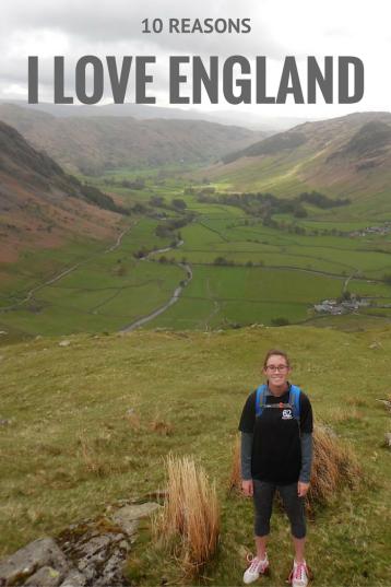 10 reasons I love England