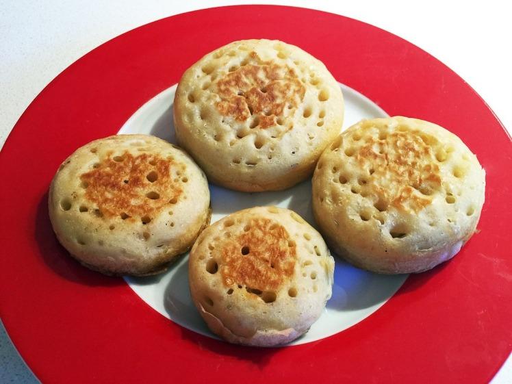 Crumpets - English food