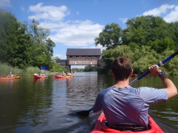 Kayaking in Germany's Mecklenburg Lake District