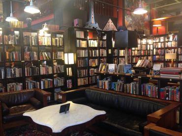 Asheville's Battery Park Book Exchange & Champagne Bar