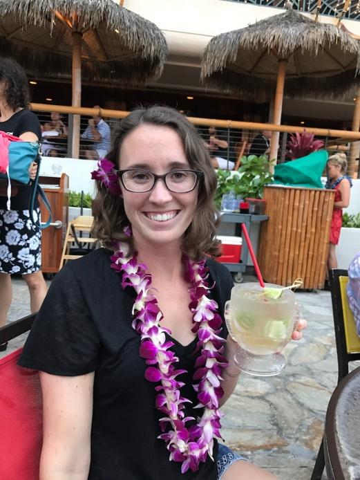 Cocktail at Duke's Waikiki - Oahu, Hawaii