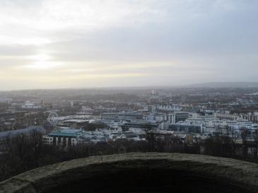 Cabot Tower on Brandon Hill - Bristol UK
