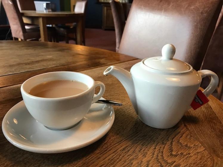 Pot of tea - British ponderings