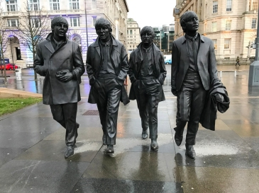 The Beatles Statue - Liverpool
