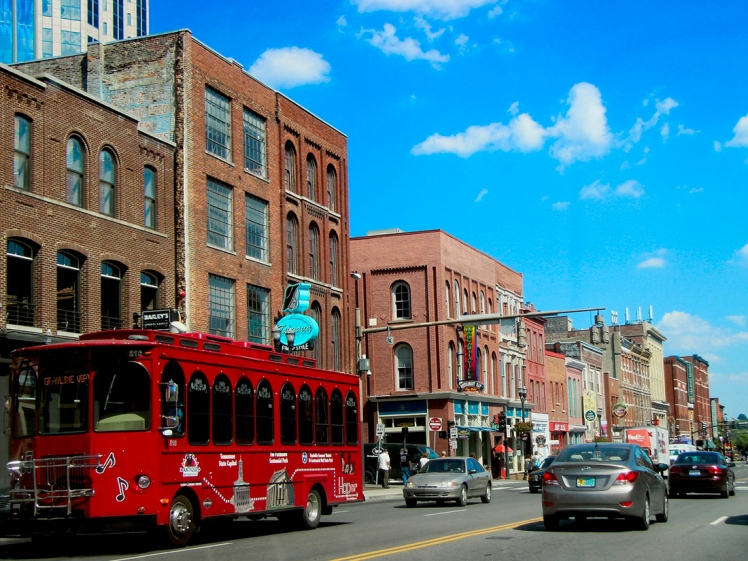 Lower Broadway - Nashville, Tennessee